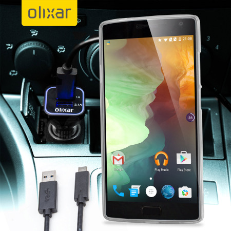Olixar High Power OnePlus 2 Car Charger