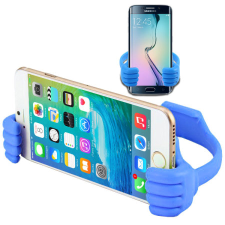 The Universal Handy Smartphone Desk Stand - Blue