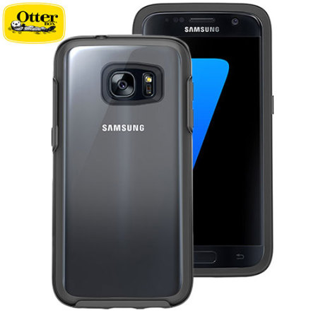 quality design a113d 617d9 OtterBox Symmetry Clear Samsung Galaxy S7 Case - Black