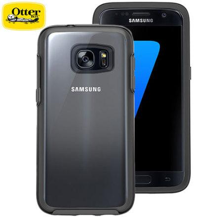 OtterBox Symmetry Clear Samsung Galaxy S7 Case - Black