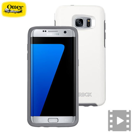 OtterBox Symmetry Samsung Galaxy S7 Edge Case - White