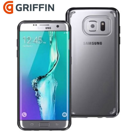 Griffin Reveal Samsung Galaxy S7 Edge Bumper Case - Clear / Black