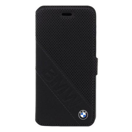 BMW Genuine Leather iPhone 6S / 6 Wallet Case - Black