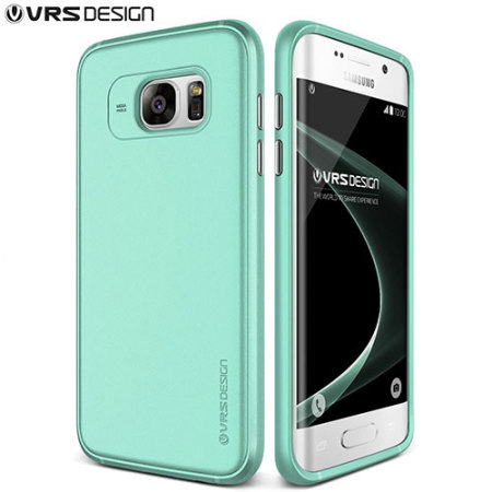 VRS Design Single Fit Series Samsung Galaxy S7 Edge Case - Ice Mint