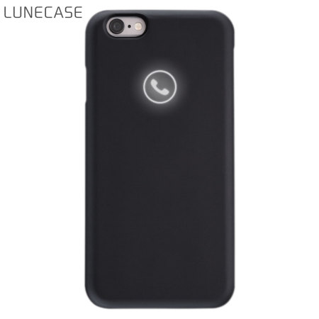 Lunecase Icon Light Up iPhone 6S / 6 Notification Case - Black