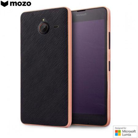 info for c3f62 2256d Mozo Microsoft Lumia 640 XL Back Cover Case - Black / Copper