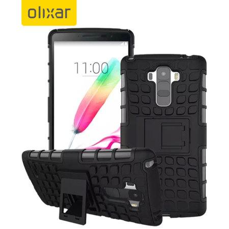 Olixar ArmourDillo LG G Stylo Tough Case - Black