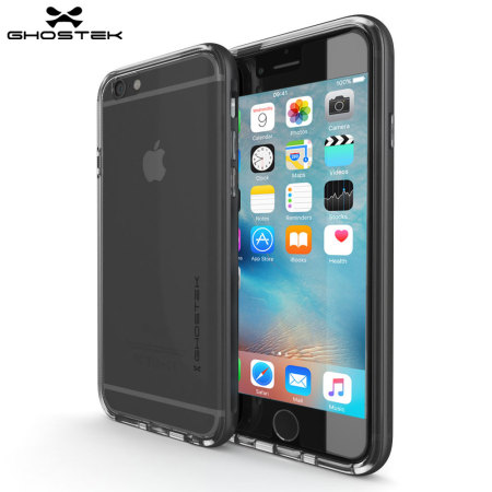 Ghostek Cloak iPhone 6S Plus / 6 Plus Tough Case - Clear / Space Grey
