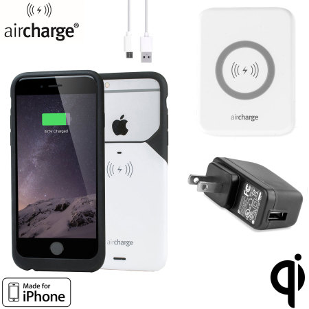 aircharge MFi Qi iPhone 6S / 6  Wireless Charging Pack - USA