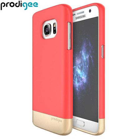 Prodigee Accent Samsung Galaxy S7 Case - Blush / Gold