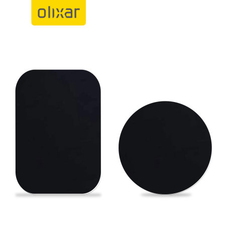 Replacement Magnetic Plates for Magnetic Car Holders - Olixar