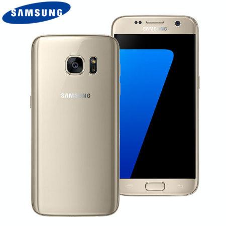 SIM Free Samsung Galaxy S7 Unlocked - 32GB - Gold