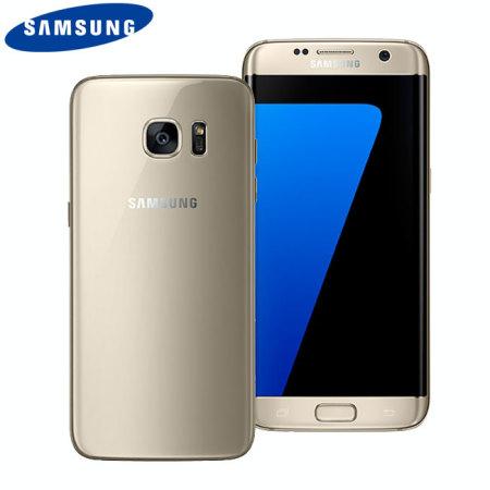 Samsung Galaxy S7 Edge SIM Free - Unlocked - 32GB - Gold