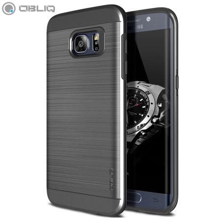Obliq Slim Meta Samsung Galaxy S7 Edge Case Titanium