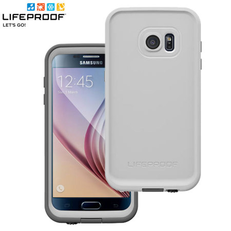 low priced 1b794 cc17a LifeProof Fre Samsung Galaxy S7 Waterproof Case - White