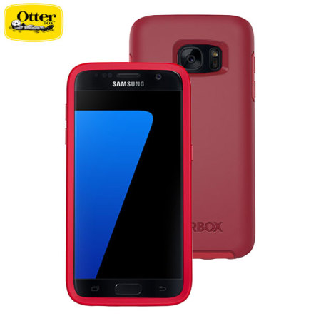 meet 1b8ef d2908 OtterBox Symmetry Samsung Galaxy S7 Case - Red