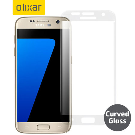 Olixar Samsung Galaxy S7 Curved Glass Screen Protector - Frosted