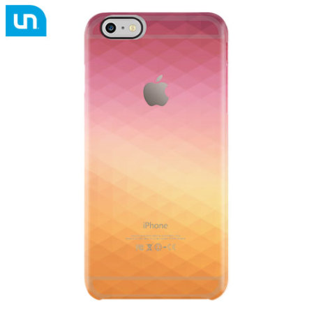 online store 0fbb8 b9881 Uncommon Clear Deflector iPhone 6S / 6 Designer Case - Solar Flare