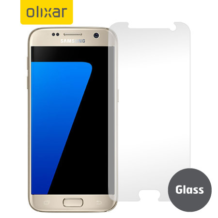 Olixar Samsung Galaxy S7 Tempered Glass Screen Protector