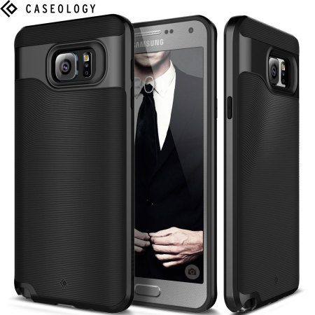 cheap for discount 99c25 f7513 Caseology Wavelength Series Samsung Galaxy Note 5 Case - Black
