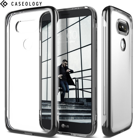 Caseology Skyfall Series LG G5 Case - Black / Clear