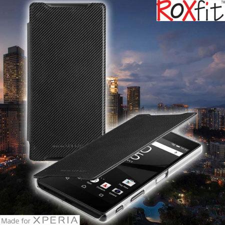 on sale 57aa2 179a9 Roxfit Sony Xperia X Performance Premium Slim Book Case - Black