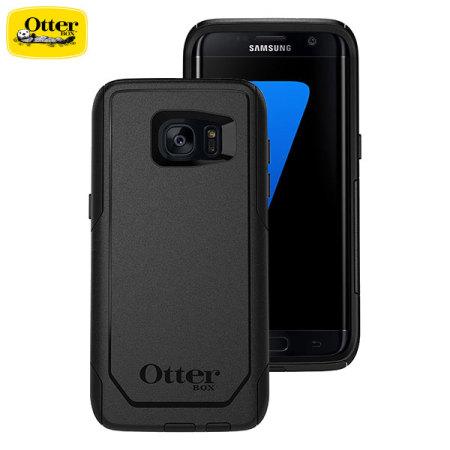 sale retailer 399e4 f43c5 OtterBox Commuter Series Samsung Galaxy S7 Edge Case - Black