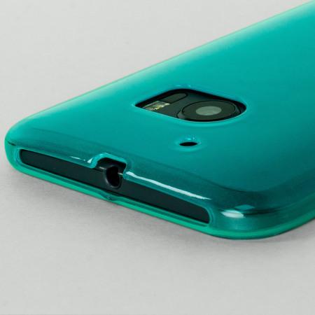 Olixar FlexiShield HTC 10 Gel Case - Blue