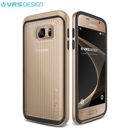 VRS Design Triple Mixx Samsung Galaxy S7 Case - Shine Gold