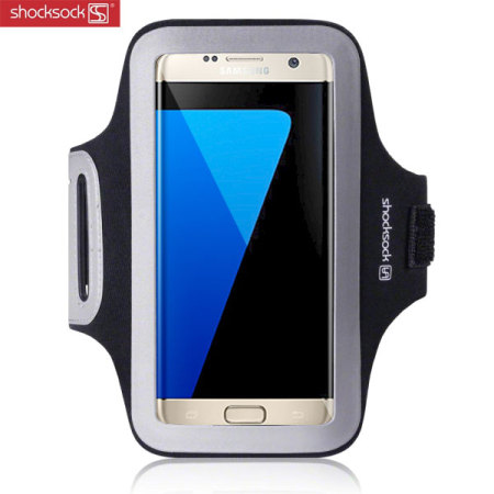 Shocksock Sports Samsung Galaxy S7 Edge Armband - Black