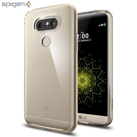 buy popular df850 dc74a Spigen Neo Hybrid Crystal LG G5 Case - Champagne Gold