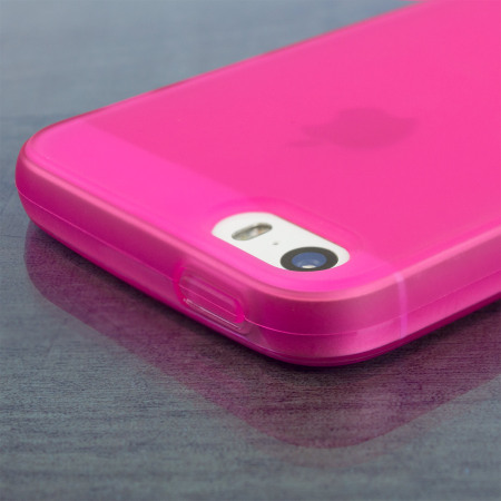 Olixar FlexiShield iPhone SE Gel Case - Pink