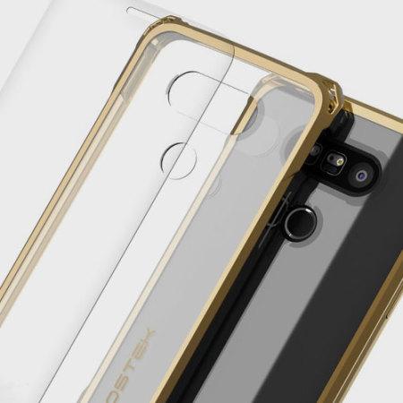 Ghostek Covert LG G5 Bumper Case - Clear / Gold