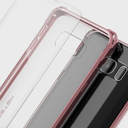 Ghostek Covert Samsung Galaxy S7 Bumper Case - Clear / Pink