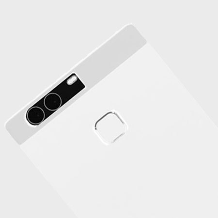 Olixar FlexiShield Huawei P9 Plus Gel Case - Frost White