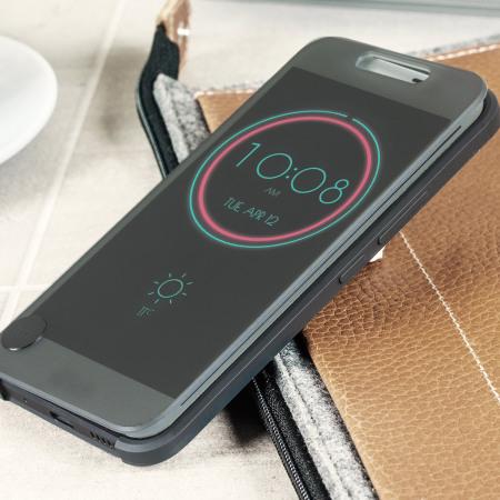 sale retailer 82d68 e88e7 Official HTC 10 Ice View Case - Black