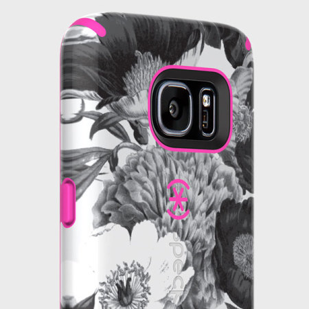 Speck CandyShell Inked Samsung Galaxy S7 Case - Shocking Pink