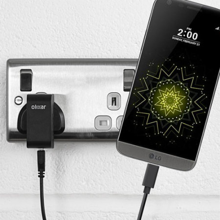 Olixar High Power LG G5 USB-C Mains Charger & Cable