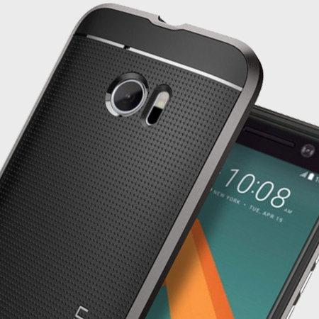 low priced ed7bc c6a26 Spigen Neo Hybrid HTC 10 Case - Gunmetal Grey