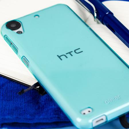 Olixar FlexiShield HTC Desire 530 / 630 Gel Case - Blue