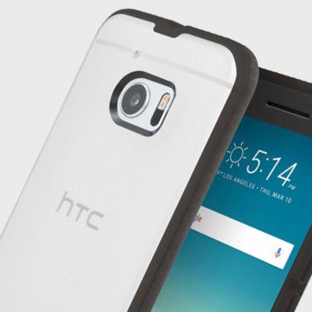 brand new 7d4a5 49d7f Incipio Octane HTC 10 Case - Frost / Black