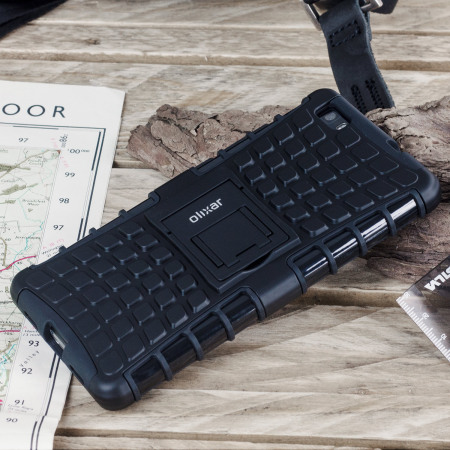 Olixar ArmourDillo Huawei P8 Lite 2015 Protective Case - Black