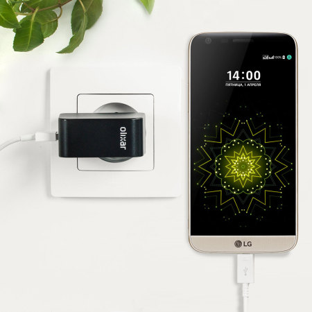 Olixar High Power 2.4A LG G5 Wall Charger - EU Mains