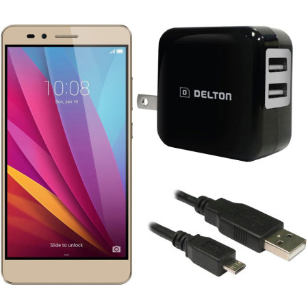 High Power 2.1A Huawei Honor 5X Wall Charger - USA Mains