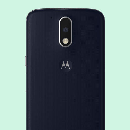 promo code 0e916 4ad16 Official Moto G4 Plus Shell Replacement Back Cover - Deep Sea Blue