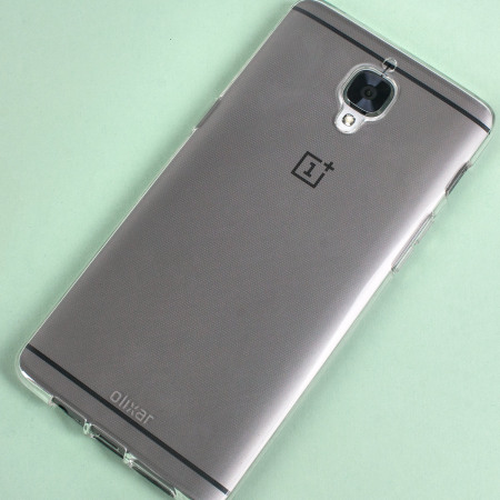 Olixar FlexiShield OnePlus 3T / 3 Gel Case - 100% Clear