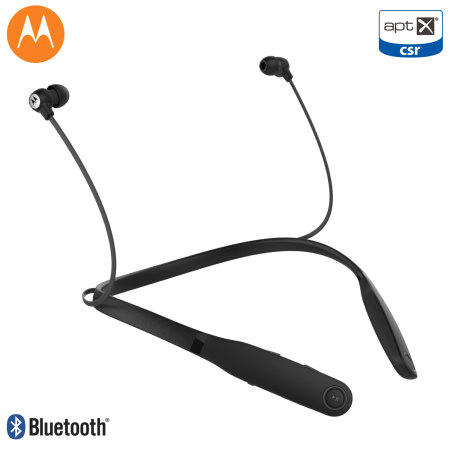 Moto VerveRider Wireless aptX Bluetooth Earbuds - Black