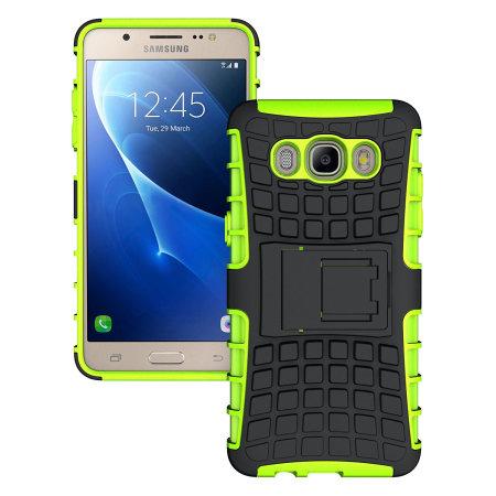 los angeles c7702 b711b Olixar ArmourDillo Samsung Galaxy J5 2016 Protective Case - Green