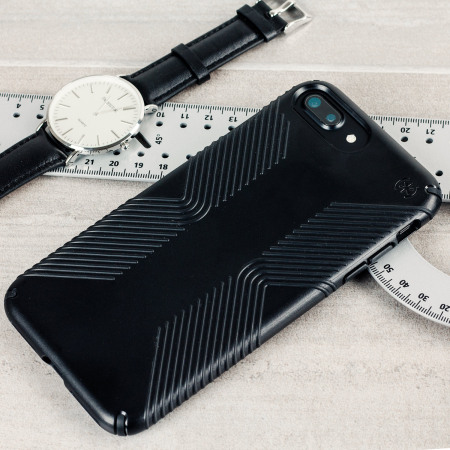online retailer ae35b 89d1a Speck Presidio Grip iPhone 7 Plus Tough Case - Black
