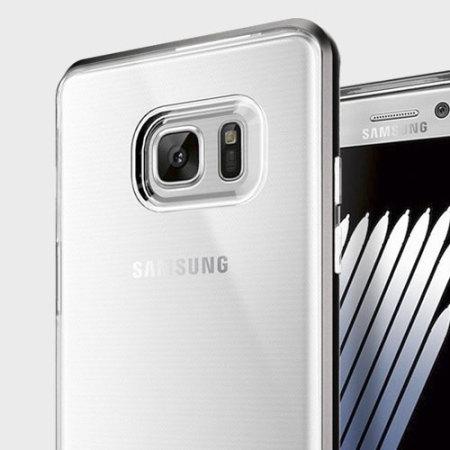 cheap for discount 8dc86 51481 Spigen Neo Hybrid Crystal Samsung Galaxy Note 7 Case - Gunmetal